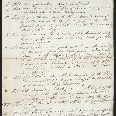 Letter respecting the charges threatened against the Society in the care of widows Edington and Gilmour (Part 3)
