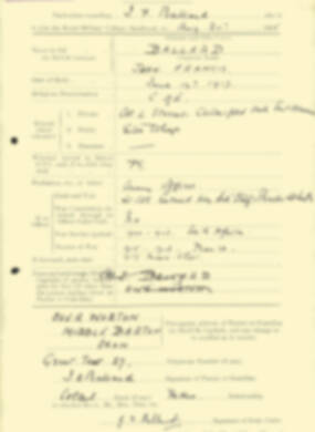 RMC Form 18A Personal Detail Sheets Aug 1935 Intake - page 19
