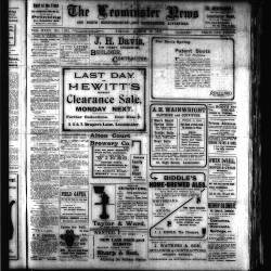 Leominster News - March 1915