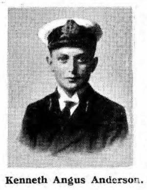 Cadet Kenneth Angus Anderson