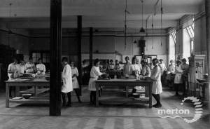 All Saints School, Wimbledon: Cookery Lesson