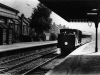 Train at Tooting Junction Station
