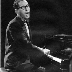 203 - Tom Lehrer playing piano and singing