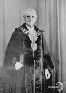 Alderman T. Reed Daniel,  Wimbledon councillor, 1943 - 45