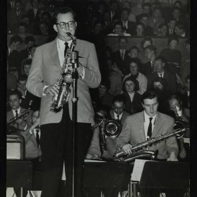 Lennie Niehaus and Tommy Whittle (left to right)