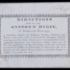 Oyston's Hygie