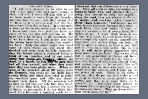 Newspaper Extract - James John Twyman