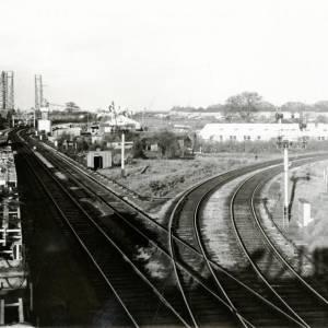 Railway Junction, Hereford, 1961