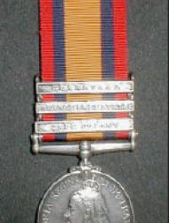 Queen's South Africa Medal 1899