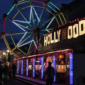 The Arcade at night