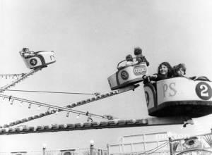 Mitcham Fair fairground ride