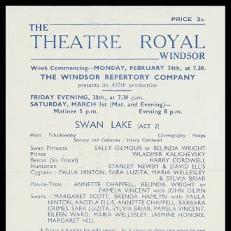 Theatre Royal, Windsor, February–March 1947