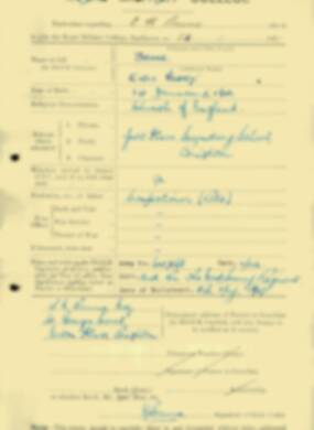 RMC Form 18A Personal Detail Sheets Jan & Aug 1931 Intake - page 8