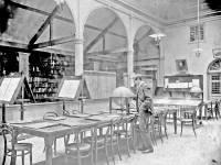 Wimbledon Library, interior