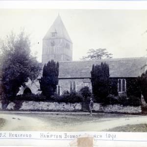 Hampton Bishop, St Andrews Church, 1891