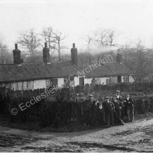 Bridge Houses once situated in Thorncliffe Wood.