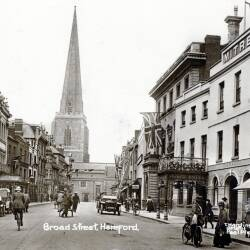 Hereford postcards