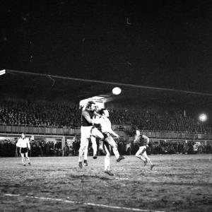 Goalmouth action, Hereford United v West Ham, Feb 1972.