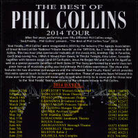 Flyer - The Best of Phil Collins 2014
