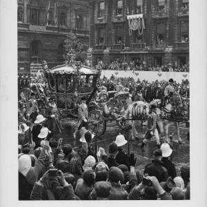 "396 - Coronation Coach ""Whitehall - June 2nd 1953"""