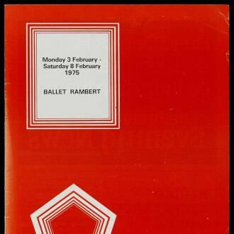 Arts Theatre Cambridge, February 1975