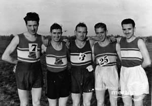 Cross Country Team,  Mitcham Athletic Club