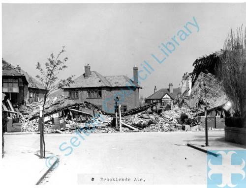 Brooklands Avenue, Crosby, 1941