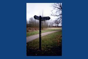 Morden Hall Park, Morden: signage