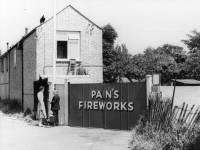 Pain's Fireworks, Eastfields, Mitcham