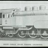 Krupp-Zoelly steam turbine locomotive.