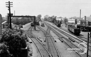 Merton Abbey Station, Coal Sidings