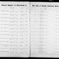 Burial Register 66 - October 1914 to March 1916