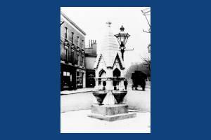 High Street, Wimbledon: Toynbee Memorial Drinking Fountain
