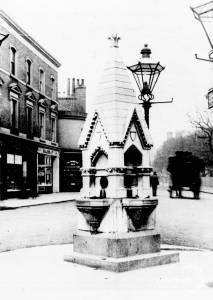 High Street, Wimbledon: Toynbee Memorial Drinking Fountain