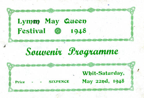1948, Lymm May Queen Festival
