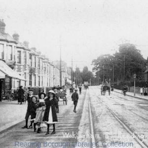 Wokingham Road, Reading, looking south-eastwards