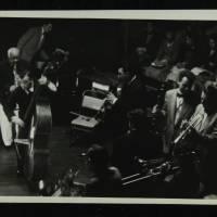 Sidney Bechet and Humphrey Lyttelton (far left and far right)