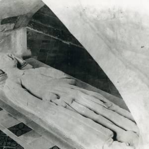 Bodenham church, effigy