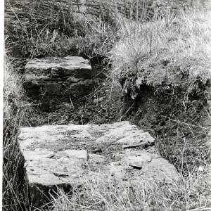 Sutton St Nicholas, Walls - bases of columns