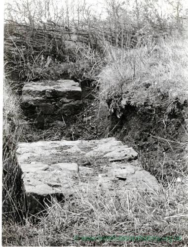 Sutton St Nicholas, Walls - bases of columns