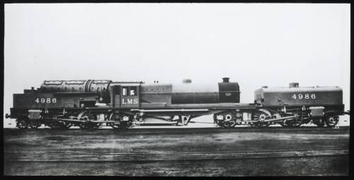 Steam locomotive 4986