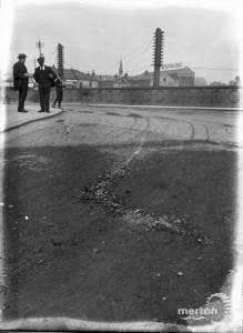 Wimbledon Bridge:   From top of Hartfield Road