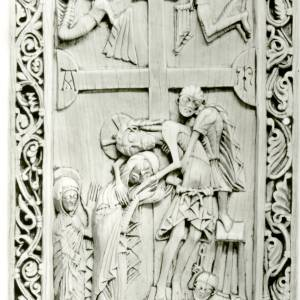 The Deposition, ivory, English, c1150