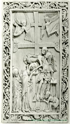 The Deposition, ivory, English, c1150