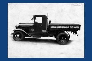 Merton and Morden Urban District Council: Lorry