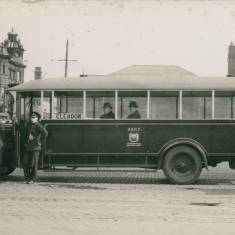 Charabanc in Market Place