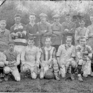 RGR008  Ross-on-Wye football club front row second from left Jack Jarvis.jpg