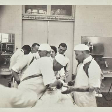 Operation in Progress - Professor Kummel And Assistants