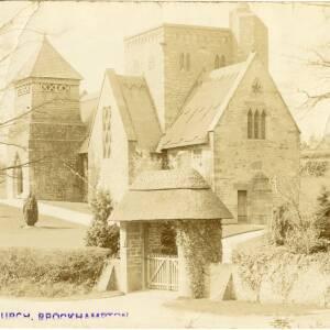 POP003 New Church, Brockhampton, c1914.jpg