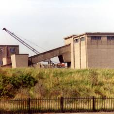 Demolition of Westoe Colliery